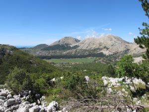 The hike up to Lovćen.