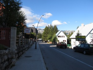 The lovely town of Žabljak.