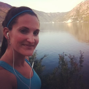 A morning run on the Bay of Kotor.