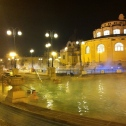 Soaking in the Szechenyi Baths was one of the best parts of Budapest, Hungary.