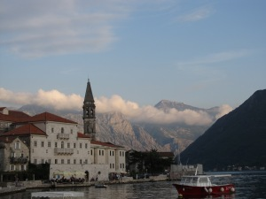 One of my favorite shots of Perast during my time in MNE.