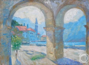 Perast - a painting by Margarita Kolobova.  Found at: http://artnow.ru/en/gallery/3/6992/picture/0/0.html
